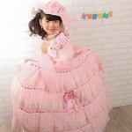 大阪の七五三写真撮影スタジオ・ハニーアンドクランチの7歳女の子ドレス・洋装のフォトギャラリーE067