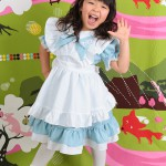 大阪の七五三写真撮影スタジオ・ハニーアンドクランチの7歳女の子ドレス・洋装のフォトギャラリーE070