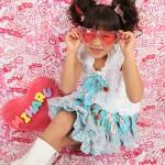 大阪の七五三写真撮影スタジオ・ハニーアンドクランチの7歳女の子ドレス・洋装のフォトギャラリーE071