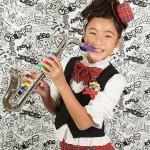 大阪の七五三写真撮影スタジオ・ハニーアンドクランチの7歳女の子ドレス・洋装のフォトギャラリーE073