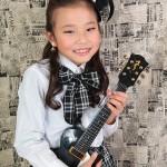 大阪の七五三写真撮影スタジオ・ハニーアンドクランチの7歳女の子ドレス・洋装のフォトギャラリーE075