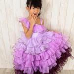 大阪の七五三写真撮影スタジオ・ハニーアンドクランチの7歳女の子ドレス・洋装のフォトギャラリーE078