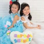 大阪の七五三写真撮影スタジオ・ハニーアンドクランチの7歳女の子ドレス・洋装のフォトギャラリーE080