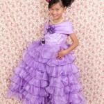 大阪の七五三写真撮影スタジオ・ハニーアンドクランチの7歳女の子ドレス・洋装のフォトギャラリーE082