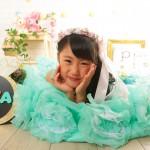 大阪の七五三写真撮影スタジオ・ハニーアンドクランチの7歳女の子ドレス・洋装のフォトギャラリーE090