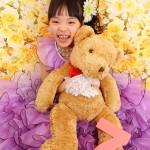 大阪の七五三写真撮影スタジオ・ハニーアンドクランチの7歳女の子ドレス・洋装のフォトギャラリーE091