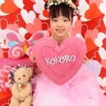 大阪の七五三写真撮影スタジオ・ハニーアンドクランチの7歳女の子ドレス・洋装のフォトギャラリーE092