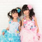 大阪の七五三写真撮影スタジオ・ハニーアンドクランチの7歳女の子ドレス・洋装のフォトギャラリーE096