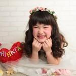 大阪の七五三写真撮影スタジオ・ハニーアンドクランチの7歳女の子ドレス・洋装のフォトギャラリーE103