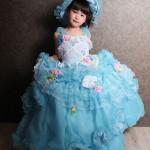 大阪の七五三写真撮影スタジオ・ハニーアンドクランチの7歳女の子ドレス・洋装のフォトギャラリーE104
