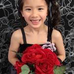 大阪の七五三写真撮影スタジオ・ハニーアンドクランチの7歳女の子ドレス・洋装のフォトギャラリーE110