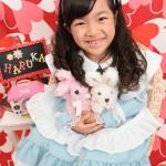 大阪の七五三写真撮影スタジオ・ハニーアンドクランチの7歳女の子ドレス・洋装のフォトギャラリーE115