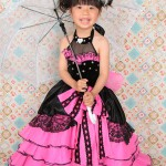 大阪の七五三写真撮影スタジオ・ハニーアンドクランチの7歳女の子ドレス・洋装のフォトギャラリーE138
