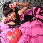 大阪の七五三写真撮影スタジオ・ハニーアンドクランチの7歳女の子ドレス・洋装のフォトギャラリーE141