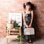 大阪の七五三写真撮影スタジオ・ハニーアンドクランチの7歳女の子ドレス・洋装のフォトギャラリーE142