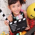 大阪の七五三写真撮影スタジオ・ハニーアンドクランチの7歳女の子ドレス・洋装のフォトギャラリーE146