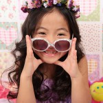 大阪の七五三写真撮影スタジオ・ハニーアンドクランチの7歳女の子ドレス・洋装のフォトギャラリーE149