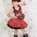 大阪の七五三写真撮影スタジオ・ハニーアンドクランチの7歳女の子ドレス・洋装のフォトギャラリーE161