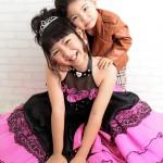 大阪の七五三写真撮影スタジオ・ハニーアンドクランチの7歳女の子ドレス・洋装のフォトギャラリーE170