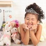 大阪の七五三写真撮影スタジオ・ハニーアンドクランチの7歳女の子ドレス・洋装のフォトギャラリーE174