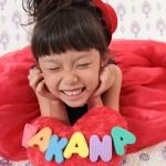 大阪の七五三写真撮影スタジオ・ハニーアンドクランチの7歳女の子ドレス・洋装のフォトギャラリーE175