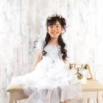 大阪の七五三写真撮影スタジオ・ハニーアンドクランチの7歳女の子ドレス・洋装のフォトギャラリーE188