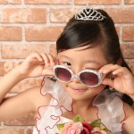 大阪の七五三写真撮影スタジオ・ハニーアンドクランチの7歳女の子ドレス・洋装のフォトギャラリーE196