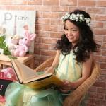 大阪の七五三写真撮影スタジオ・ハニーアンドクランチの7歳女の子ドレス・洋装のフォトギャラリーE200