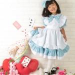 大阪の七五三写真撮影スタジオ・ハニーアンドクランチの7歳女の子ドレス・洋装のフォトギャラリーE209