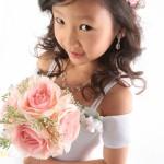 大阪の七五三写真撮影スタジオ・ハニーアンドクランチの7歳女の子ドレス・洋装のフォトギャラリーE213