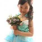 大阪の七五三写真撮影スタジオ・ハニーアンドクランチの7歳女の子ドレス・洋装のフォトギャラリーE229