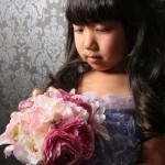 大阪の七五三写真撮影スタジオ・ハニーアンドクランチの7歳女の子ドレス・洋装のフォトギャラリーE233