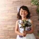 大阪の七五三写真撮影スタジオ・ハニーアンドクランチの7歳女の子ドレス・洋装のフォトギャラリーE234