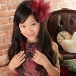 大阪の七五三写真撮影スタジオ・ハニーアンドクランチの7歳女の子ドレス・洋装のフォトギャラリーE240