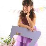 大阪の七五三写真撮影スタジオ・ハニーアンドクランチの7歳女の子ドレス・洋装のフォトギャラリーE243