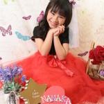 大阪の七五三写真撮影スタジオ・ハニーアンドクランチの7歳女の子ドレス・洋装のフォトギャラリーE245