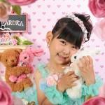 大阪の七五三写真撮影スタジオ・ハニーアンドクランチの7歳女の子ドレス・洋装のフォトギャラリーE248