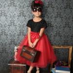 大阪の七五三写真撮影スタジオ・ハニーアンドクランチの7歳女の子ドレス・洋装のフォトギャラリーE254