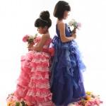 大阪の七五三写真撮影スタジオ・ハニーアンドクランチの7歳女の子ドレス・洋装のフォトギャラリーE257