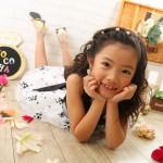 大阪の七五三写真撮影スタジオ・ハニーアンドクランチの7歳女の子ドレス・洋装のフォトギャラリーE262