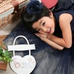 大阪の七五三写真撮影スタジオ・ハニーアンドクランチの7歳女の子ドレス・洋装のフォトギャラリーE264