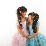 大阪の七五三写真撮影スタジオ・ハニーアンドクランチの7歳女の子ドレス・洋装のフォトギャラリーE270