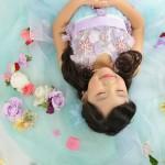 大阪の七五三写真撮影スタジオ・ハニーアンドクランチの7歳女の子ドレス・洋装のフォトギャラリーE272