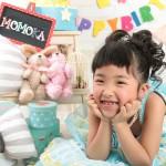 大阪の七五三写真撮影スタジオ・ハニーアンドクランチの7歳女の子ドレス・洋装のフォトギャラリーE279