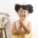 大阪の七五三写真撮影スタジオ・ハニーアンドクランチの7歳女の子ドレス・洋装のフォトギャラリーE286