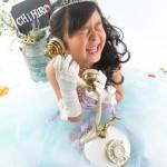 大阪の七五三写真撮影スタジオ・ハニーアンドクランチの7歳女の子ドレス・洋装のフォトギャラリーE288