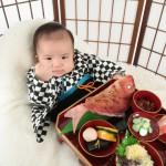 大阪のお宮参り・お食い初め・百日祝写真撮影スタジオ・ハニーアンドクランチのお宮参り和装のフォトギャラリーGW449