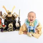 大阪の初節句・ハーフバースディ写真撮影スタジオ・ハニーアンドクランチの和装のフォトギャラリーHW194