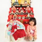大阪の初節句・ハーフバースディ写真撮影スタジオ・ハニーアンドクランチの和装のフォトギャラリーHW188