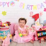 大阪の誕生日写真撮影スタジオ・ハニーアンドクランチのフォトギャラリーI013